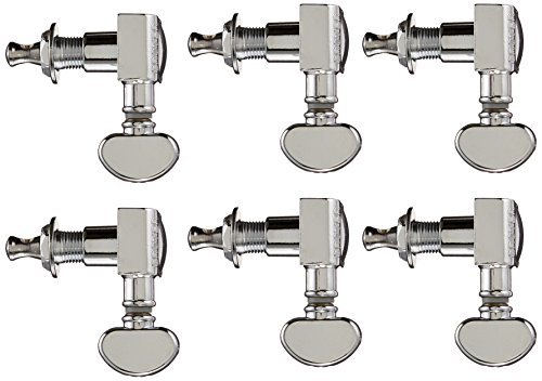 Grover 305C Midsize Rotomatic 18:1 Machine Heads, (Grover Guitar Machines)
