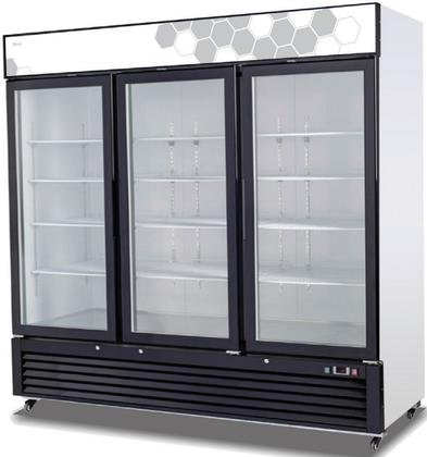 "Migali C-72FM Competitor Series Freezer Merchandiser, 82"" W,"