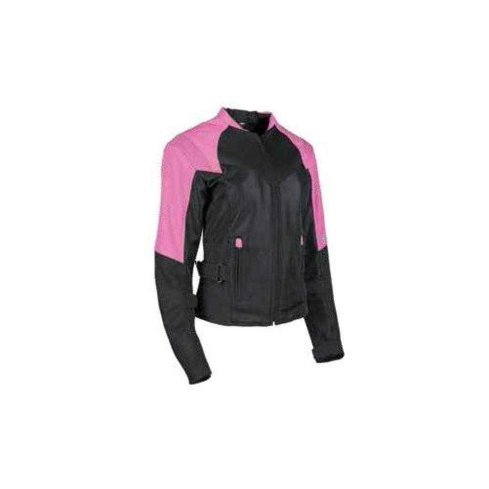 Red//Black 2X-Large Speed and Strength Sinfully Sweet Mesh Womens Street Motorcycle Jacket