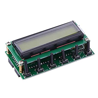 HATCHMATIC DC 8V-9V AD9850 6 Bands 0-55MHz Frequency LCD DDS Signal Generator Digital Module
