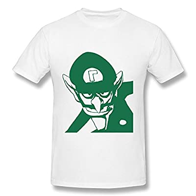 KEMING Men's Bad Guy Waluigi Design T-shirt
