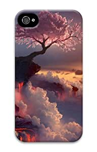 iphone 4 free cases Landscapes Flowering Fire 3D Case for Apple iPhone 4/4S