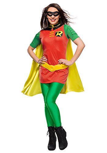 Rubie's Costume DC Comics Women's Robin Superhero Costume - -