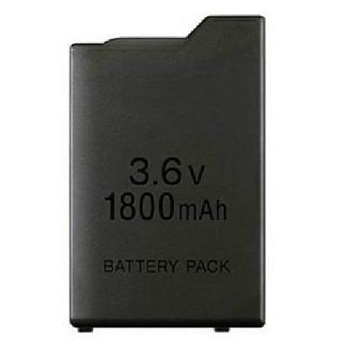 OSTENT 1800mAh 3.6V Lithium Ion Rechargeable Battery Pack Replacement for Sony PSP 1000 PSP-110 Console ()