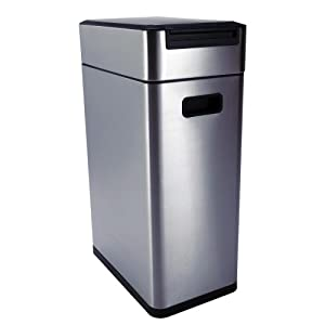 Amazon Com Oxo Good Grips Touch 10 1 2 Gallon Garbage Can