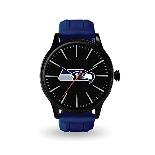 Q Gold Gifts Watches NFL Seattle Seahawks Cheer Watch by Rico Industries