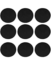 TOPBATHY 12pcs Compost Bin Filters Compost Pail Bucket Replacement Charcoal Filters Deodorant Activated Carbon Compost Bin Filter Refill(Round)