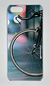 City Speed Bicycle Bokeh Lights Transparent Sides Hard Shell Case for Iphone6 plus Iphone6 plus by Sakuraelieechyan