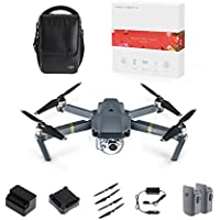 DJI Mavic Pro Portable Drones Quadcopter with Holiday Gift (Fly More Combo)