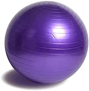 Exercise Ball for Fitness, Gym, Stability, Balance & Yoga, Quick Pump Included - Anti Burst Exercise Equipment