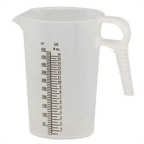 (Verified Exchange 16 oz. Accu-Pour PP Measuring Pitcher (1)