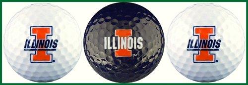 illinois, university of golf balls