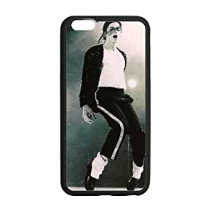iphone 4 4s Case, [Michael jackson] iphone 4 4s Case Custom Durable Case Cover for iPhone6 TPU case(Laser Technology)