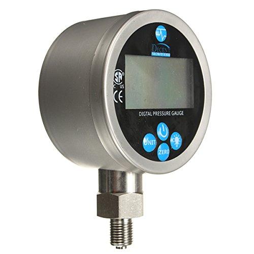 HITSAN 400BAR/40Mpa Digital Display Oil Hydraulic Pressure Gauge Test Meter One Piece