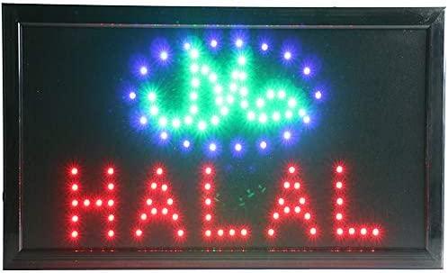 Señal LED de restaurante/halal/Kebab/Doner Kebab/Debap para ...