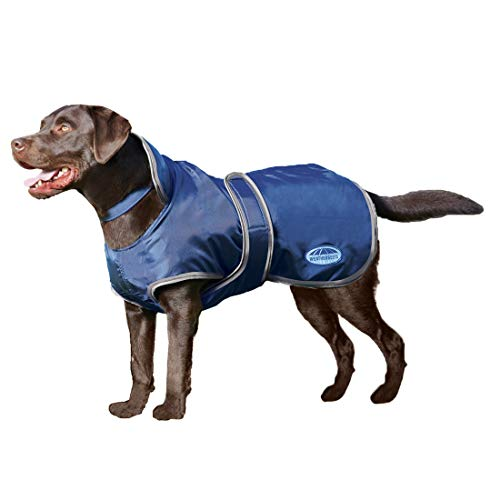 Weatherbeeta Windbreaker 420D Deluxe Dog Coat Navy/Grey/White - Australian Fleece Cattle Dog