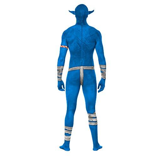 Morphsuits MLORBM - Disfraces azul Orco mandíbula cuentagotas ...