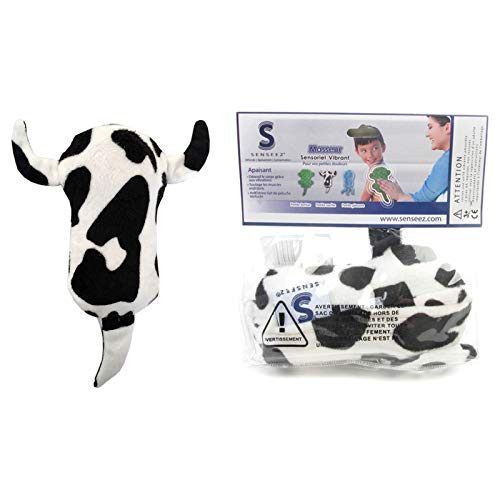 Senseez Handheld Soothables, Sensory Massager, Lil Cow