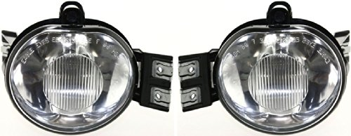 Kool Vue SET-3342009RAS New Set of 2 Fog Lights Driving Lamps Driver & Passenger Side LH RH 55077474AD, 55077475AD Pair (Dodge 2500 Driving Lights compare prices)