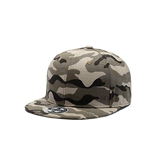 LONIY Camo Snapback Caps New Flat Designer Adjustable Hip Hop Hats for Men Women Camouflage Baseball Bboy Cap