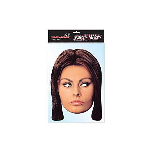 [Official Sophia Loren Celebrity Mask] (Hollywood Film Fancy Dress Costumes)