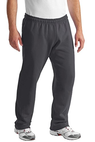 Port & Company Men's Perfect Lightweight Comfort Sweatpant_Charcoal_Medium