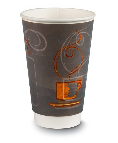 EcoSmart AROCOF-01-16-C 16 oz Capacity, Aroma Insulair Triple Wall Insulated Paper Hot Cup (20 Packs of 30)