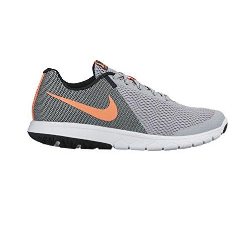 Nike WoMen 844729-007 Trail Running Shoes Grey (Wolf Grey/Bright Mango-black-white)
