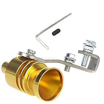 evertrust (TM) universal de coche vehículo Turbo Sound Whistle Tubo de escape Bov Válvula