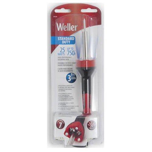 Weller SP25NUS Standard Duty LED Soldering Iron, Red/Black