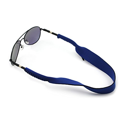 - HuntGold 1X Applied Outdoor Sports Prevent Sunglasses Slipping Safety Holder Cloth Strap(Blue)