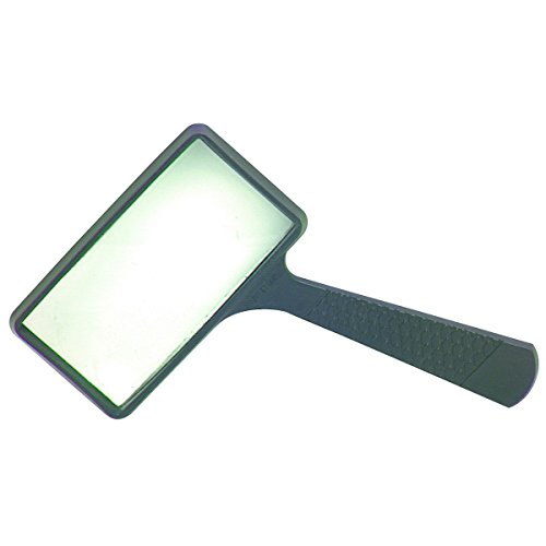 Harbor Freight Rectangle Magnifying Glass, Black (37708)