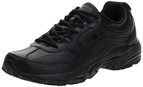 Fila Men's Memory Workshift Cross-Training Shoe,Black/Black/Black,15 4E US