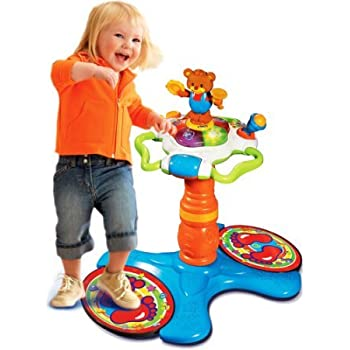 Amazon Com Vtech Sit To Stand Dancing Tower