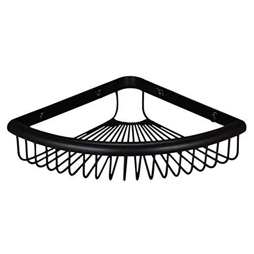 wsloftyGYd - Estante Organizador de Pared para baño con Forma de Abanico, Color Negro, Multicolor, 1