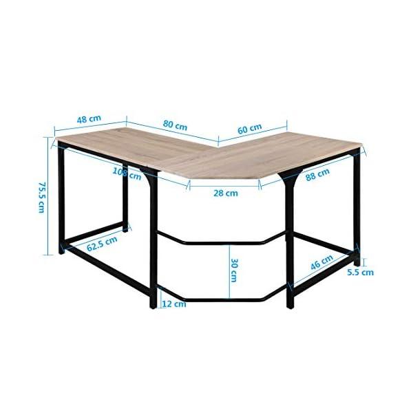 Aingoo L Mesa Escritorio-6