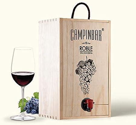 Bag in box vino - Campinbar® 5 Litros (Tinto Roble)