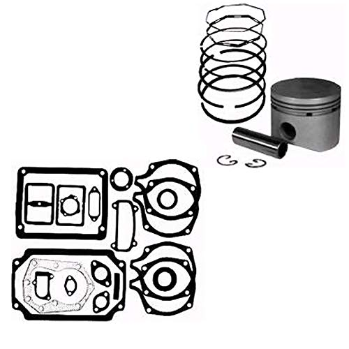 One (1) Piston Assembly & Gasket Set for Kohler 14 HP Model K-321