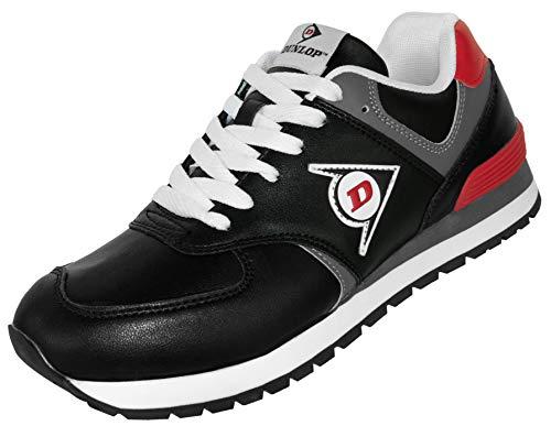 Antiderpante nera senza in Dunlop da shell Od basse protezione della scarpe pelle lavoro ZpWqfap