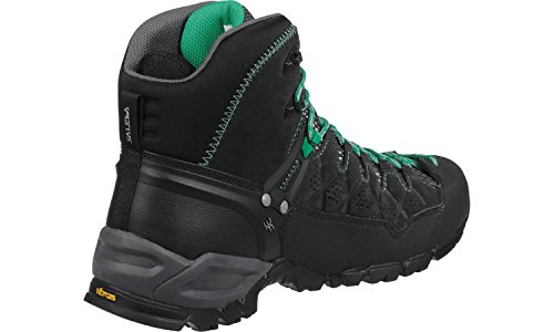 Women's Boot Alp Hiking Black Salewa Mid Trainer GTX p4qgZwCFc