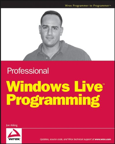 Download Professional Windows Live Programming (Programmer to Programmer) Pdf