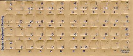 Pegatinas de teclado, superposiciones, etiquetas: caracteres ...