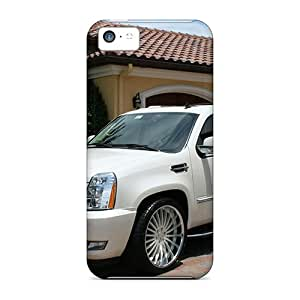 Shockproof/dirt-proof Cadillac Escalade Esv Luxury Suv Covers Cases For Iphone(5c)