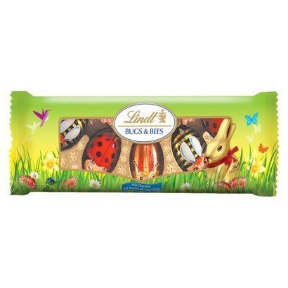 Lindt Bugs & Bees, Milk Chocolate with Hazelnut and Crisp Fi