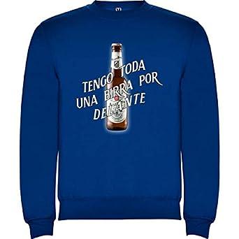 CamisetasATM1903 Sudadera del Atlético de Madrid Tengo Toda una Birra por Delante: Amazon.es: Ropa y accesorios