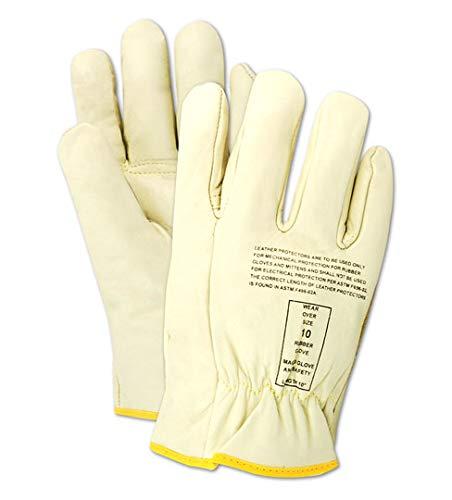 MAGID Low Voltage Leather Lineman Protector Glove