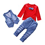 Lurryly Sweatshirts for Women Sweatshirts for Women Plus Size Rompers for Women Gifts for Women,❤Toddler Girl Dresses Jumpsuit for Baby Girl Clothes for Girls Rompers,❤Red❤,❤Size:3T ❤Label Size:XL