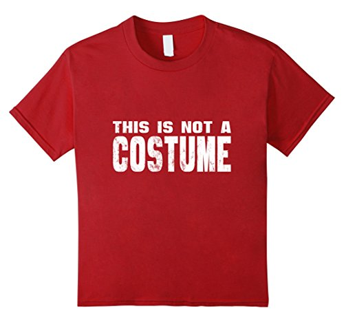 Non Costumes Offensive (Kids This Is Not A Costume Non Offensive T Shirt 4)