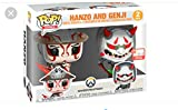 Pop Funko Hanzo and Genji 2-Pack E3 2019 Limited Edition