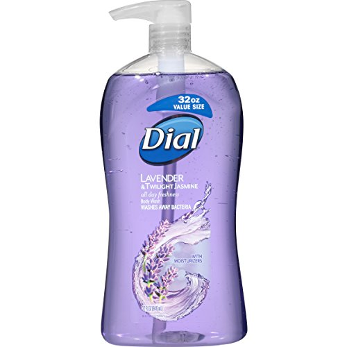 Dial Body Wash, Lavender & Twilight Jasmine, 32 Fluid (Lavender Gel)